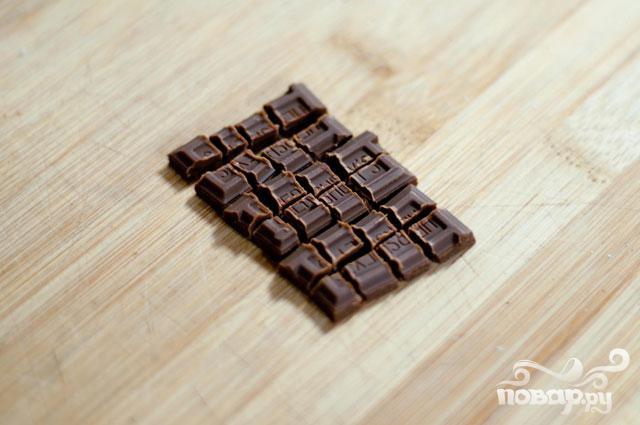 Печенье с шоколадом и маршмэллоу - фото шаг 1