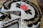 Торт Улыбка негритенка