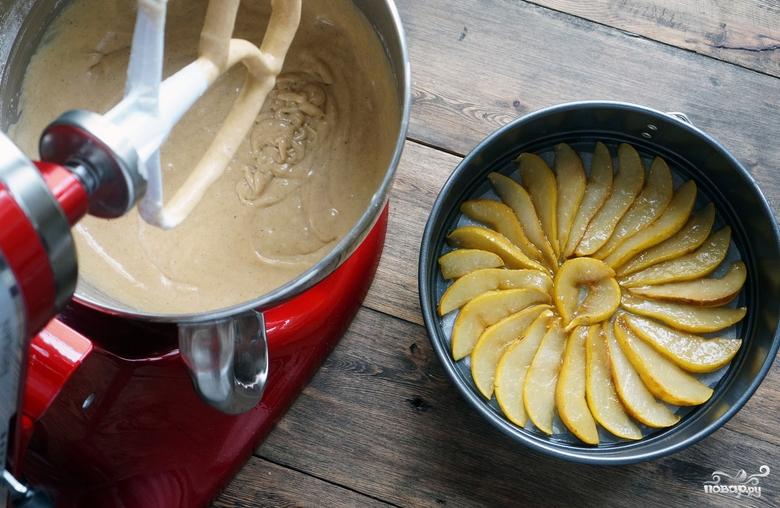 Торт с грушевым кремом - фото шаг 10