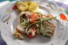 Рыба под сметанным соусом в духовке
