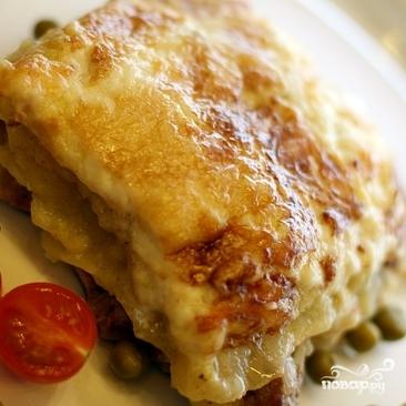 Мясо по-французски в мультиварке - фото шаг 4