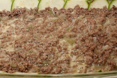 Запеканка мясная с кабачками - фото шаг 3