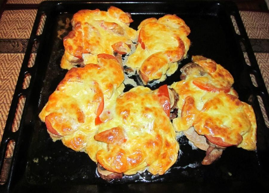 Как приготовить мясо по-французски из свинины с картошкой пошаговый рецепт