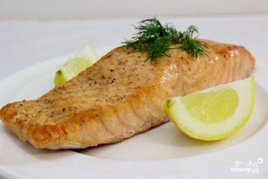 фото рецепт приготовления лосося в духовке