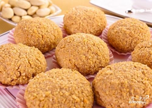 Миндальное печенье без муки