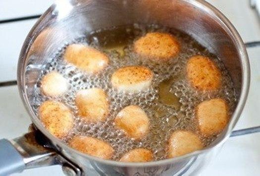 Творожные пончики на скорую руку - фото шаг 5