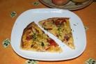 Пицца из дрожжевого теста в духовке