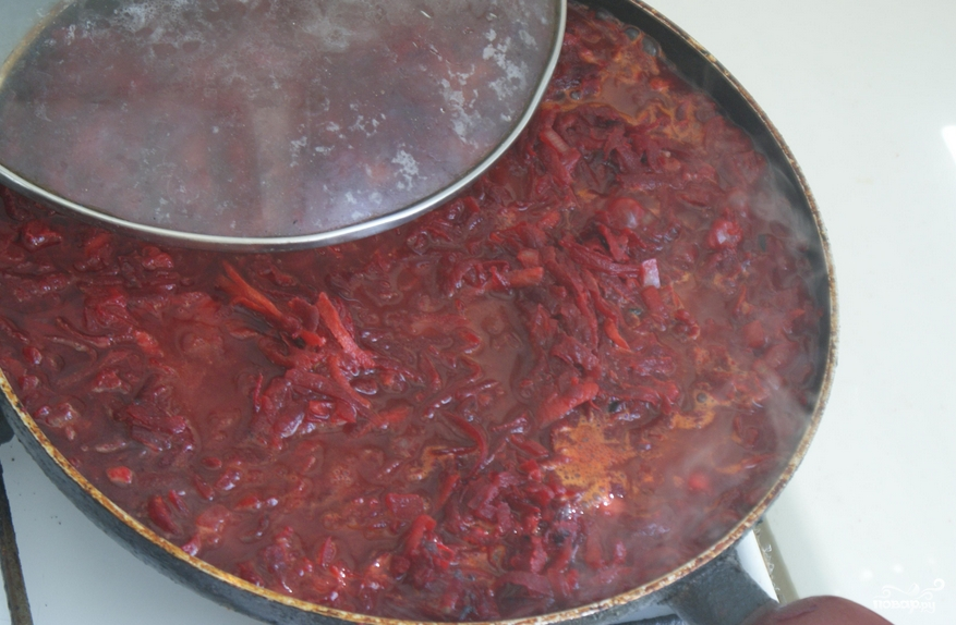 Свекла тушеная с морковью и луком - фото шаг 2