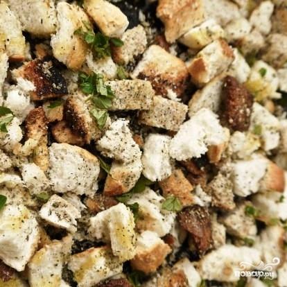 из сухарей салат рецепт классический