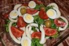 Новогодний салат из кальмаров