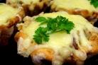 Жульен с плавленным сыром