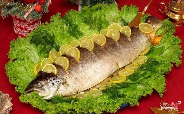 рыба на гриле рецепты с фото в духовке с