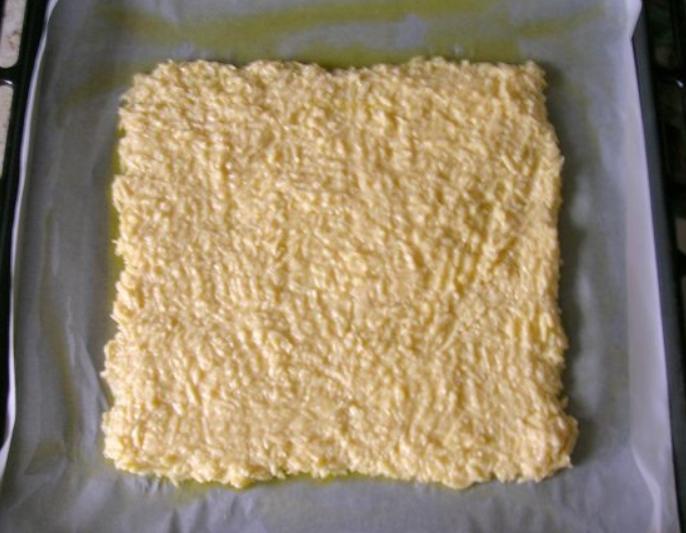 Рулет из сыра с курицей - фото шаг 4