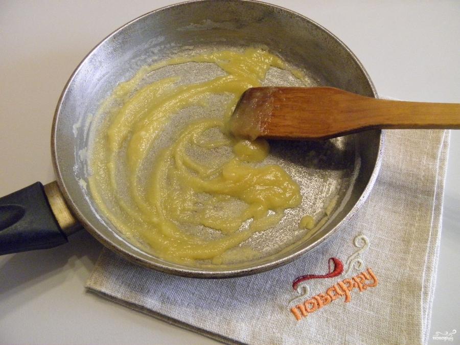 Цветная капуста под сырным соусом - фото шаг 4