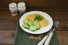Запеканка картофельная с рыбными консервами