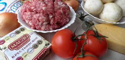 Рецепт Простая лазанья с фаршем