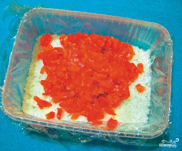 Красная рыба под шубой салат  пошаговый рецепт с фото на