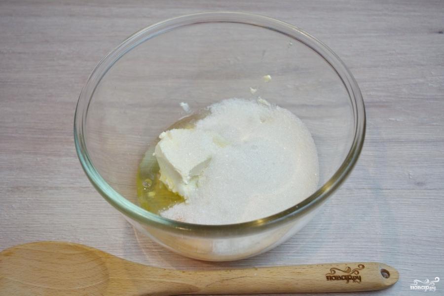 Бисквит с вишней - фото шаг 2