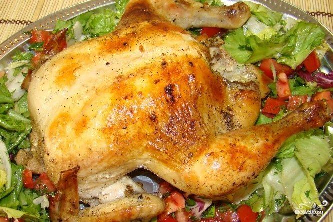 Курица в рукаве для запекания