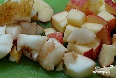 Компот из яблок и груш - фото шаг 2