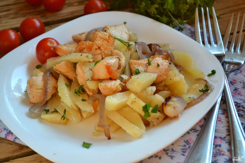 филе утки в духовке с картошкой рецепты