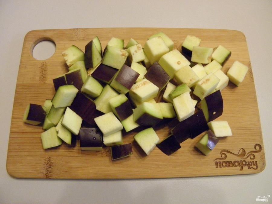 Солянка с баклажанами и капустой на зиму - фото шаг 3