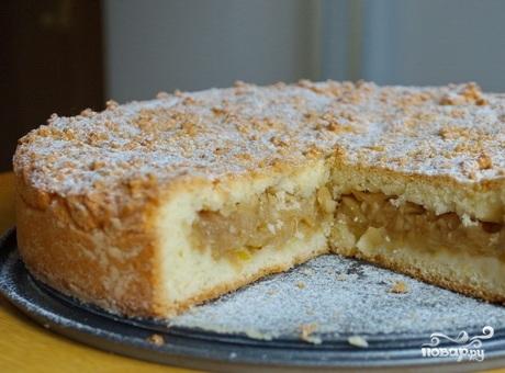 Песочный яблочный пирог - фото шаг 15