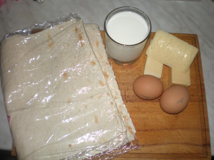 Рецепт Ачма ленивая из лаваша