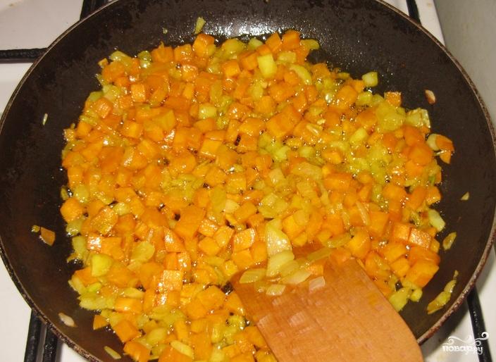 Чечевица с овощами - фото шаг 4