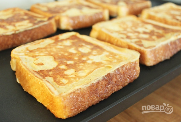 Рецепт хлеба тост