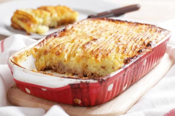 Рецепт Картофельная запеканка с мясным фаршем