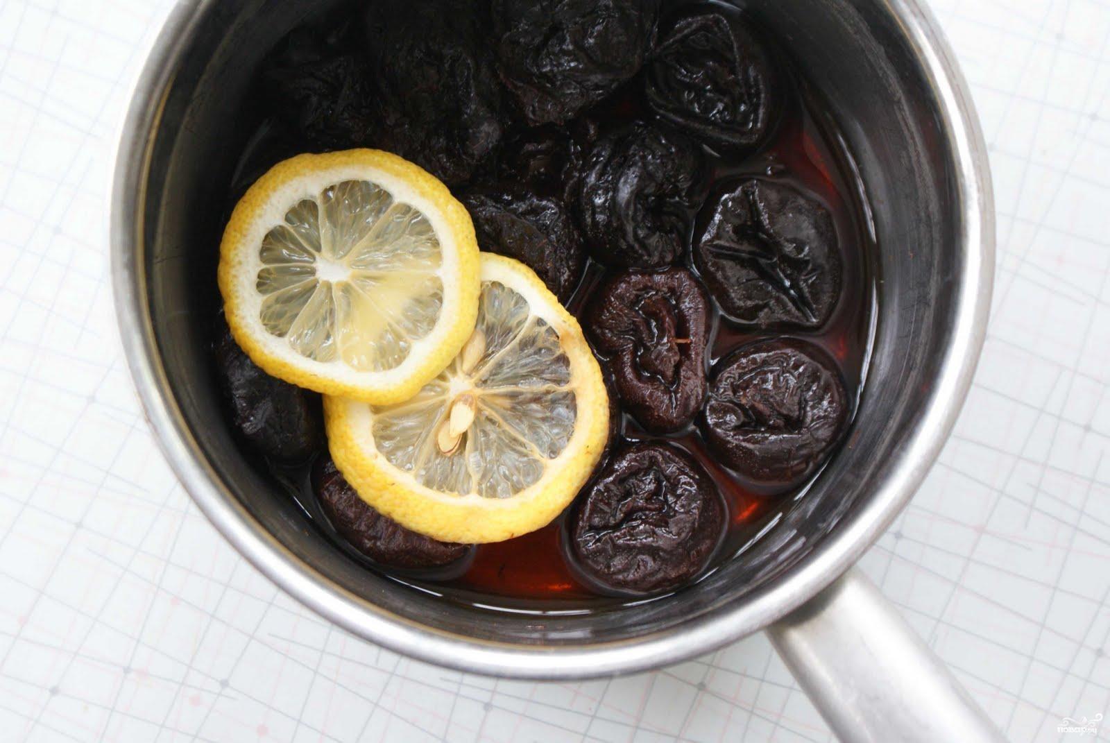 Рецепт Компот из чернослива