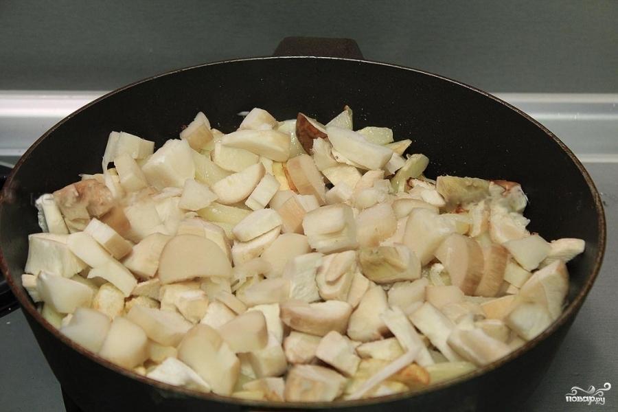 Картошка с белыми грибами - фото шаг 5