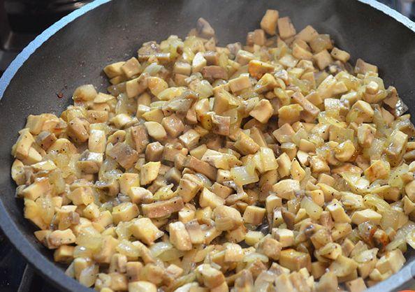 Салат в виде елки - фото шаг 2