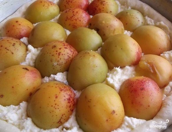 Творожный пирог с фруктами - фото шаг 11