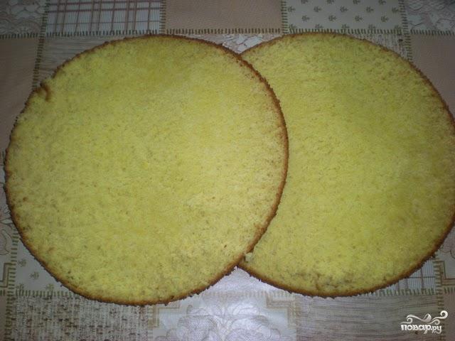 Творожно-клубничный торт - фото шаг 2