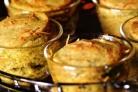 Суфле из брокколи и трёх видов сыра