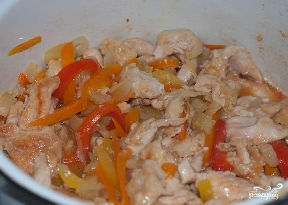 Курица по-пекински в кисло-сладком соусе - фото шаг 15