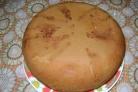 Бисквит простой на кефире