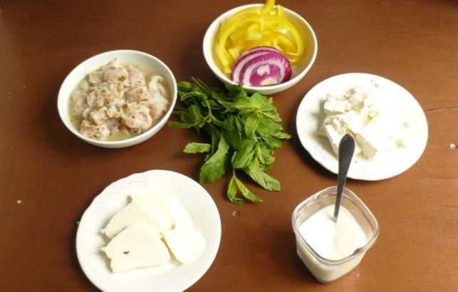 Рецепт Сувлаки из курицы