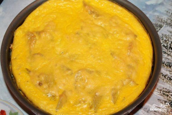 картошка в духовке с молоком и яйцом в духовке