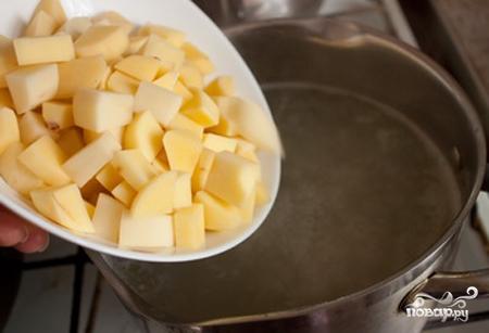 Итальянский суп с сыром - фото шаг 3