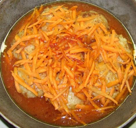 Тефтели рыбные с рисом в томатном соусе пошаговый рецепт с в