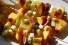 Персиковые шашлыки