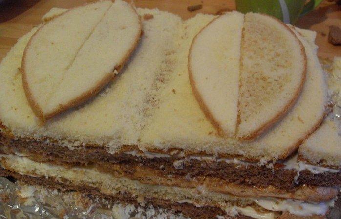 """Торт """"Книга"""" - фото шаг 5"""