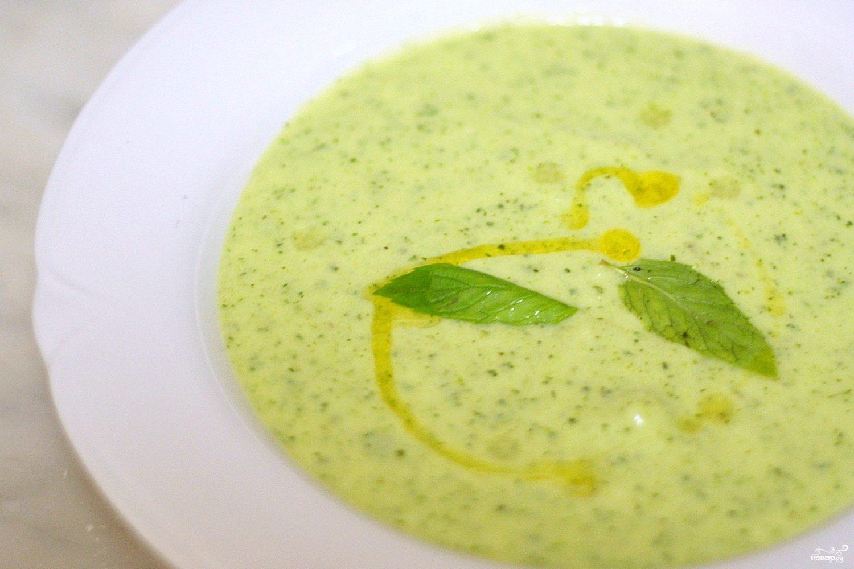 Холодный итальянский суп