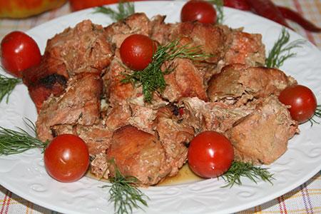 Маринованная свинина в духовке на обед - фото шаг 5