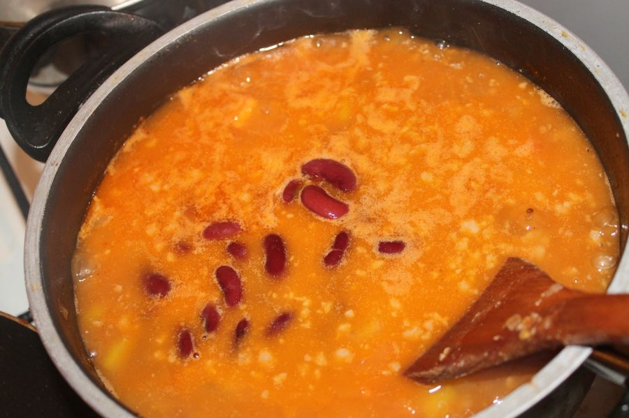 Мексиканский суп с фаршем - фото шаг 6