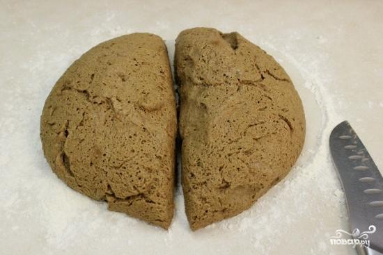 Черный хлеб - фото шаг 9