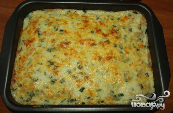 Рецепт Сырная запеканка с сельдереем
